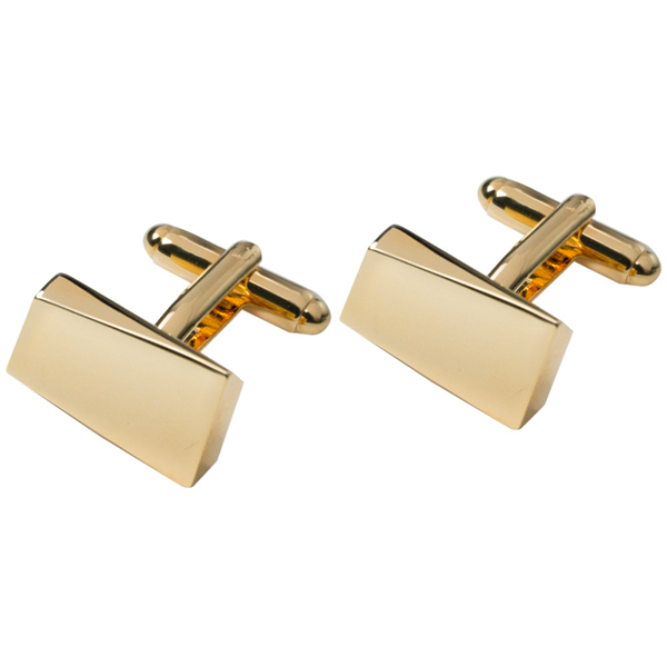 Cufflinks - Shiny gold (1)