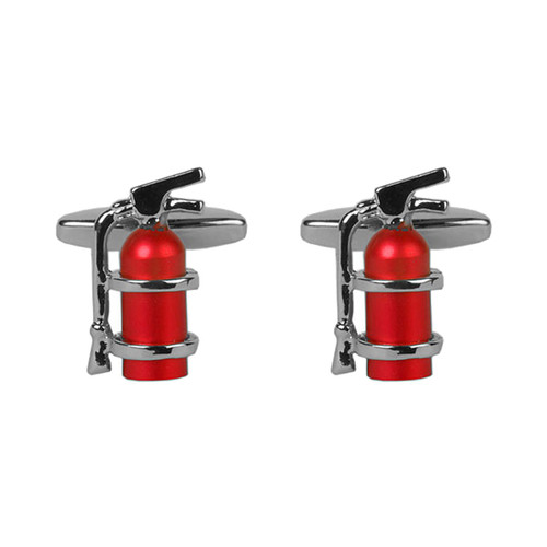 Cufflinks - Fire extinguisher (1)