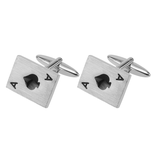 Cufflinks - Ace of spades (1)