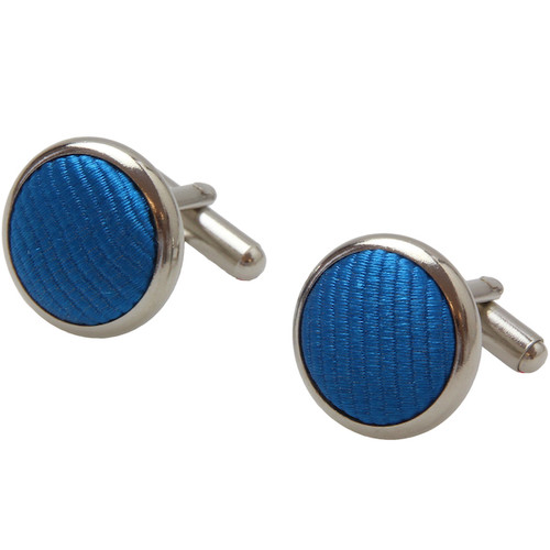 Bright blue cufflinks (1)