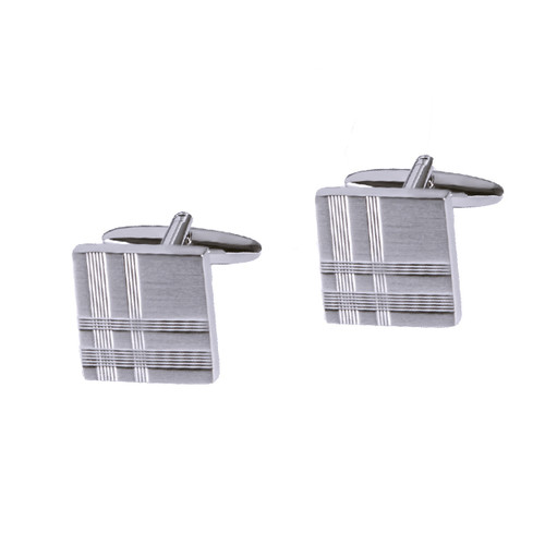 Cufflinks - Matt with tiles (1)