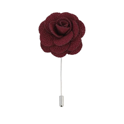 Lapel Pin - Burgundy  (1)