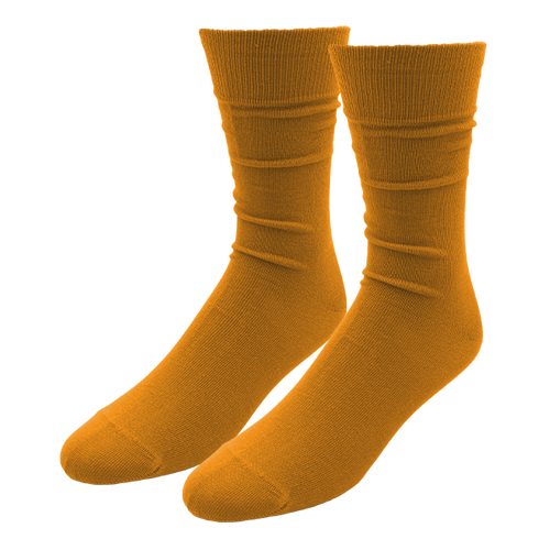 Ocher Yellow Socks for Men - E.L. Cravatte (1)